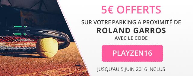 réduction RG Paris