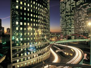 Photo de la Défense de nuit