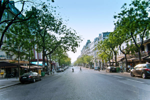 photo des Grands Boulevards de Paris