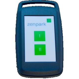 Illustration du boîtier Zenpass de Zenpark