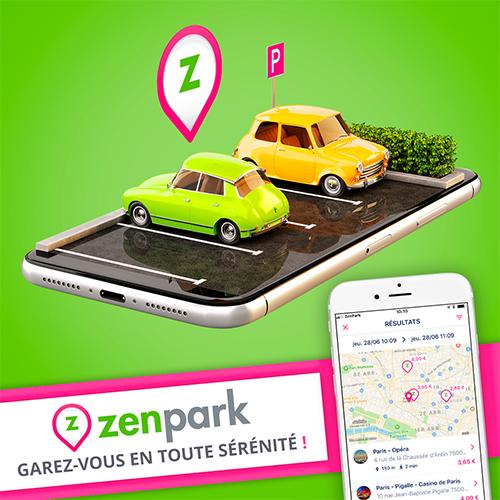 Zenpark : réservation et location de parkings